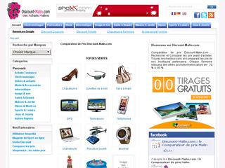 Comparateur de prix Discount-Malin.com